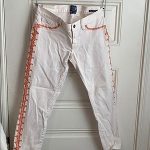 Lucky Brand Jeans Embroidered 28/6